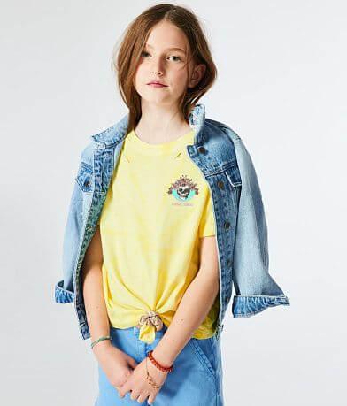 Girls - Modish Rebel Skull Tour T-Shirt