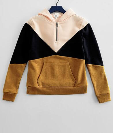 Girls - BKE Color Block Hooded Sweatshirt