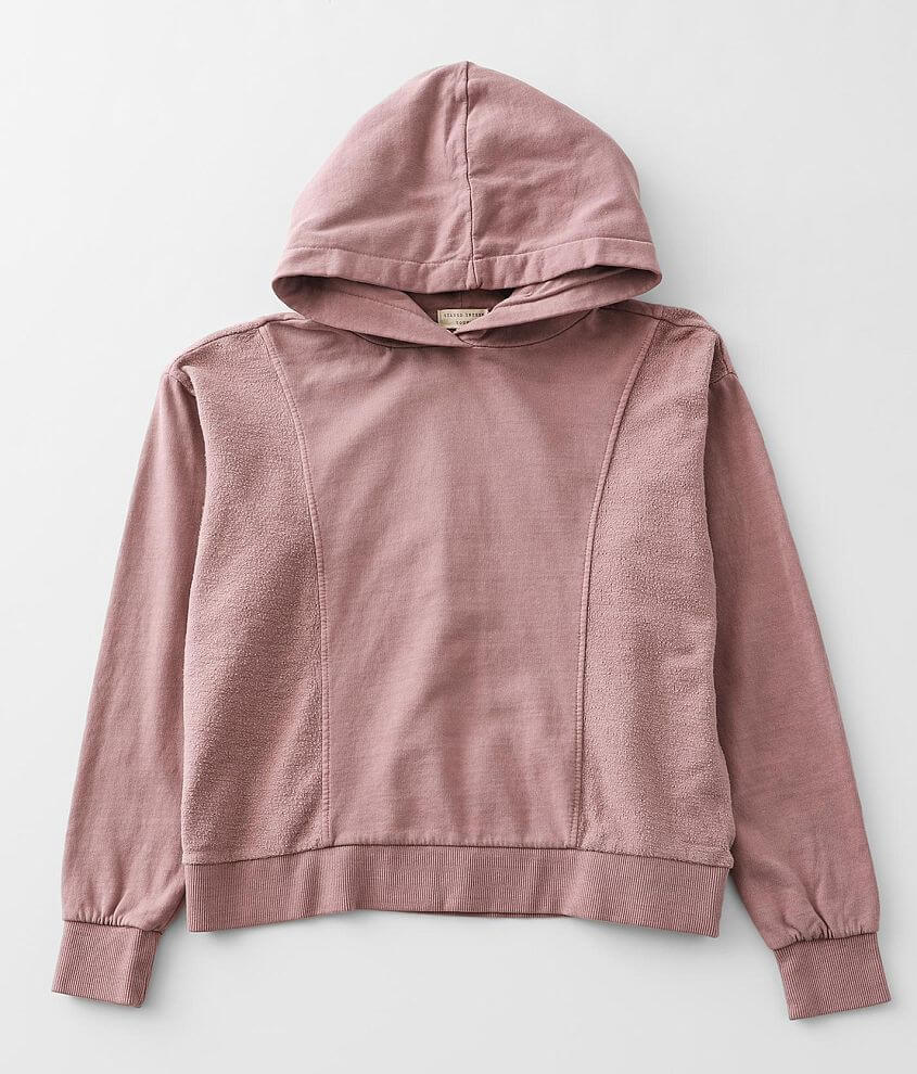 Girls - Gilded Intent Reverse Pieced Hoodie front view