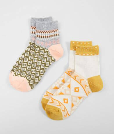 Free People Double Tree 2 Pack Socks