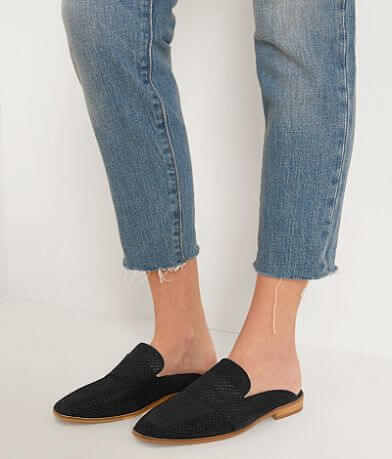 Free People At Ease Leather Mule Shoe