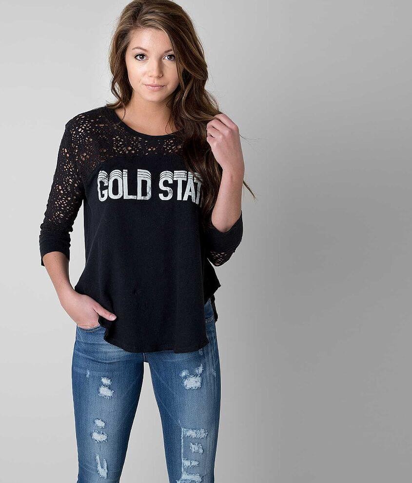 Free People Gold State Top front view