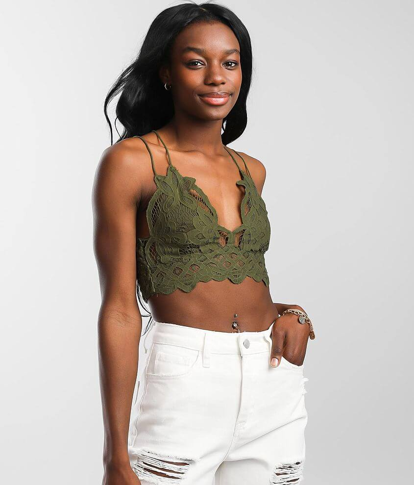 Free People Adella Lined Bralette front view
