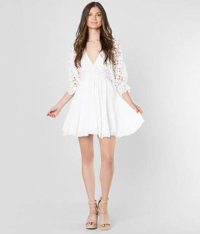 Free People Bella Note Mini Dress