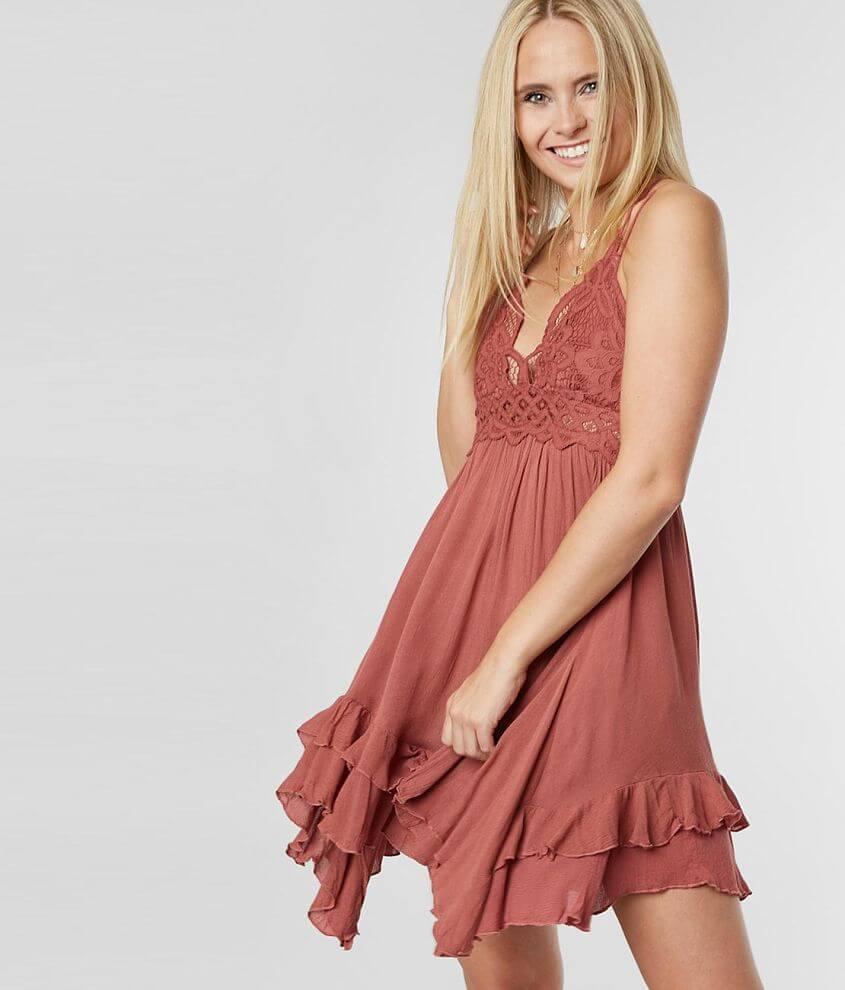 f4200b9fca56 Free People Adella Slip Dress - Women's Dresses in Coral Rose | Buckle