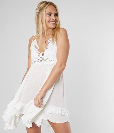 new style f7a9b d3f80 Free People Adella Slip Dress