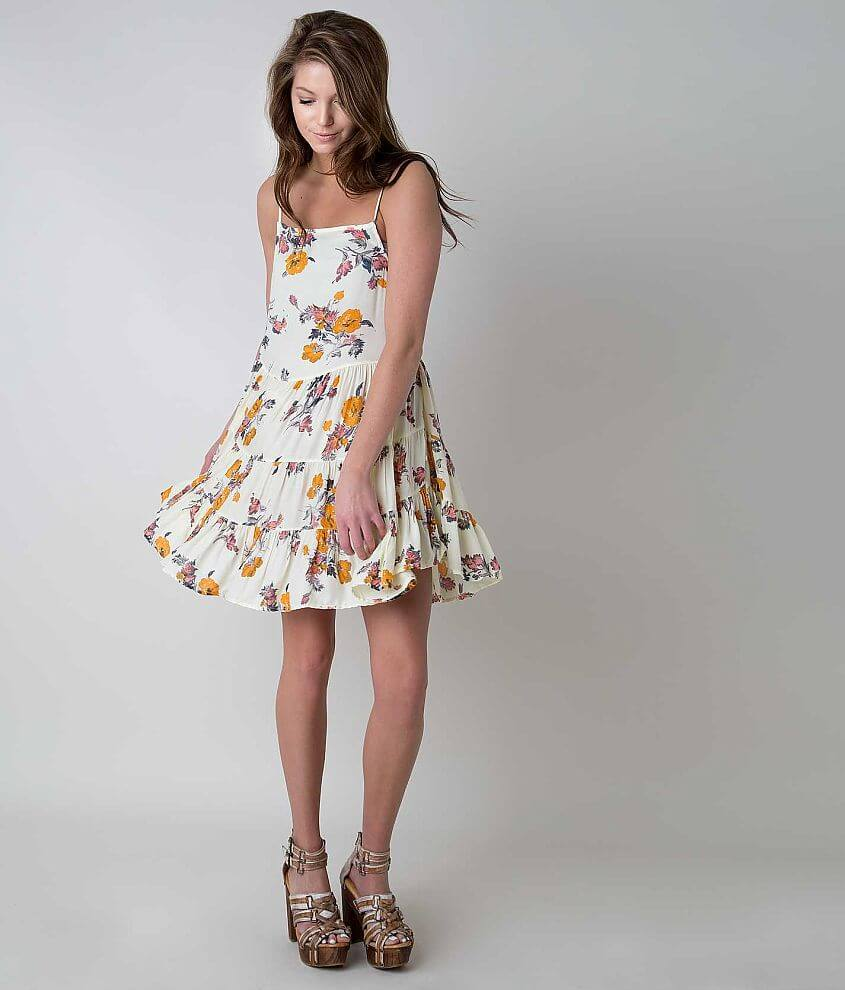 Free People Circle of Flowers Dress - Women s Dresses in Ivory  26afbd15b8