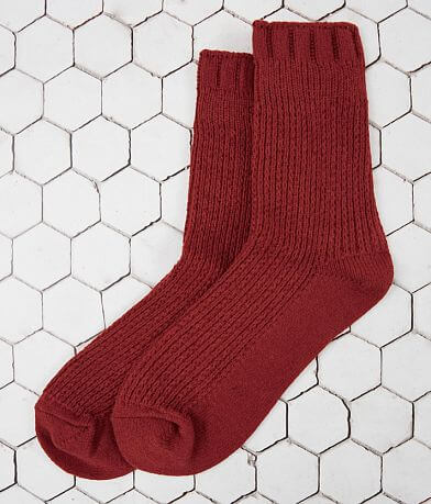 Free People Camilla Cable Knit Socks
