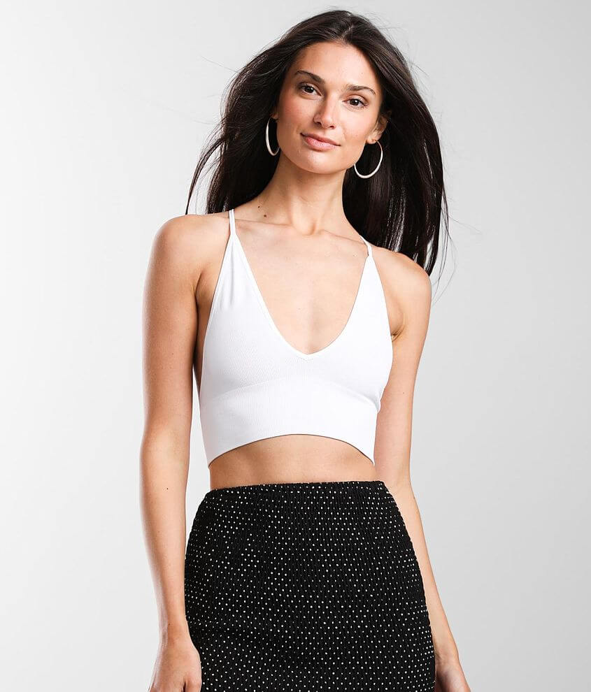 Free People Scoop Me Up Bralette front view