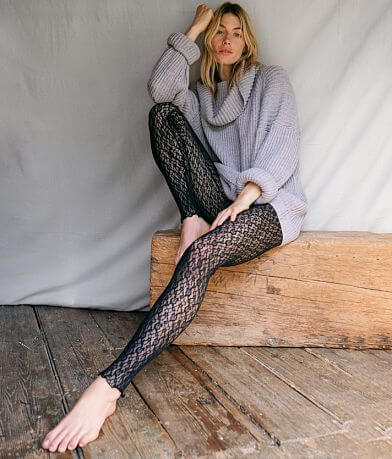 Free People Layered In Lace Legging