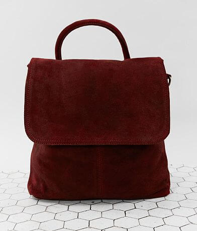 Free People Paris Convertible Leather Backpack