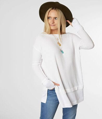 Free People North Shore Thermal Tunic Top