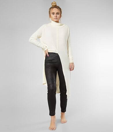 Free People Vegan Suede Skinny Pant