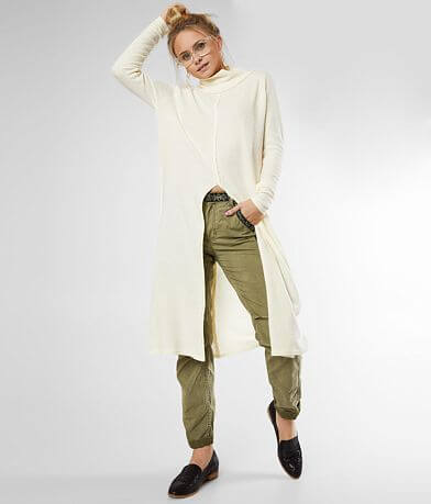 Free People Work It Tunic Top