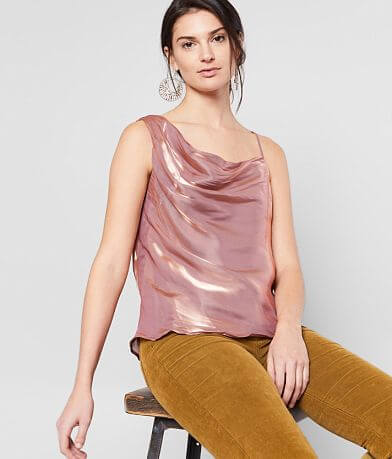 Free People Shimmy Shimmy Tank Top