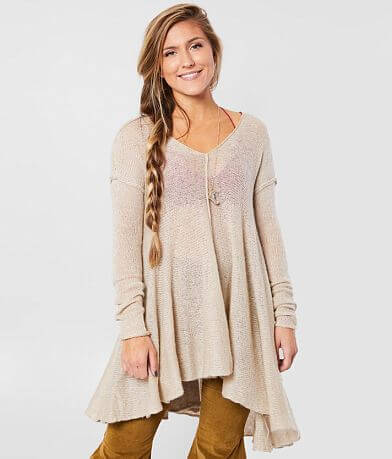 Free People Dancing In The Forest Tunic Sweater
