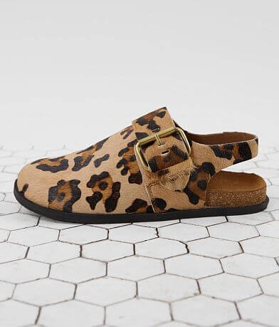 Free People Seattle Sling Back Leopard Shoe