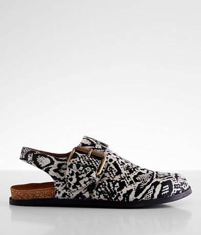 Free People Seattle Leather Sling Back Shoe