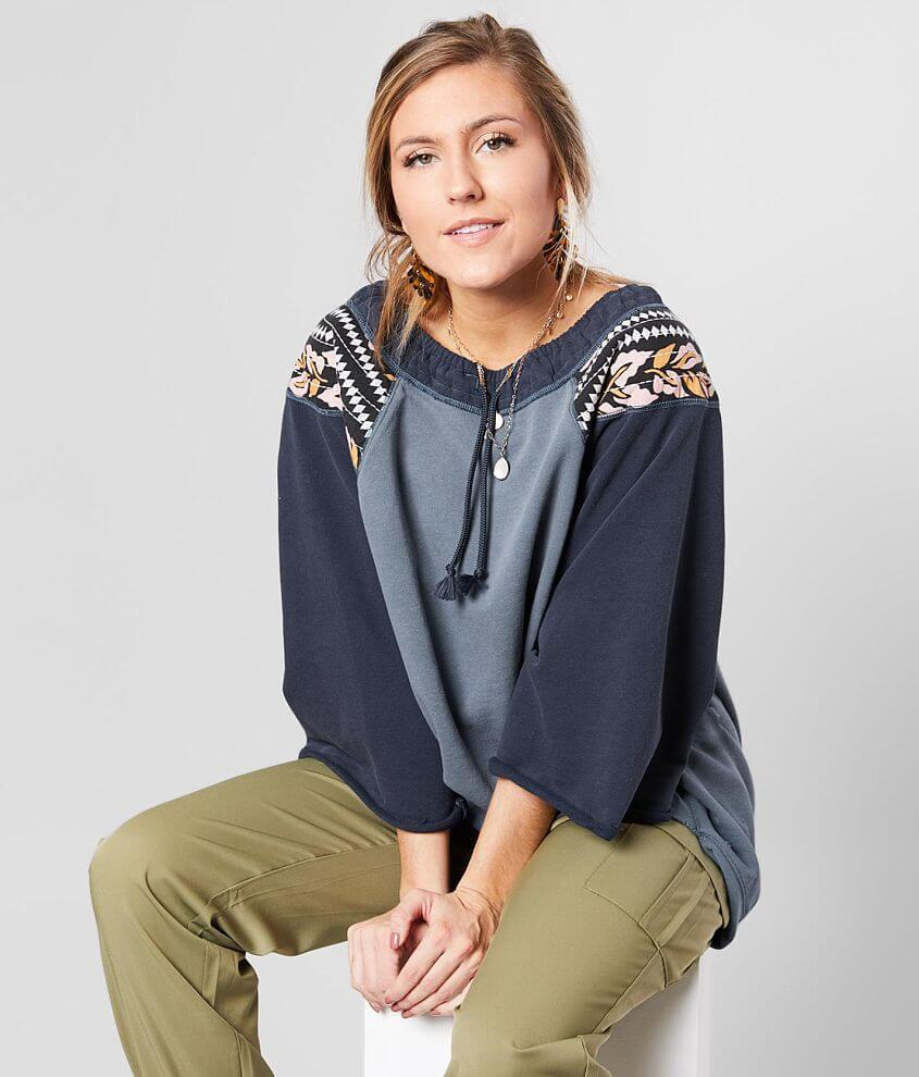 Free People Rosalee Pullover front view