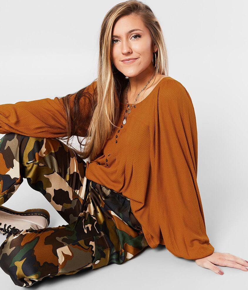 Free People Devin Henley Top front view