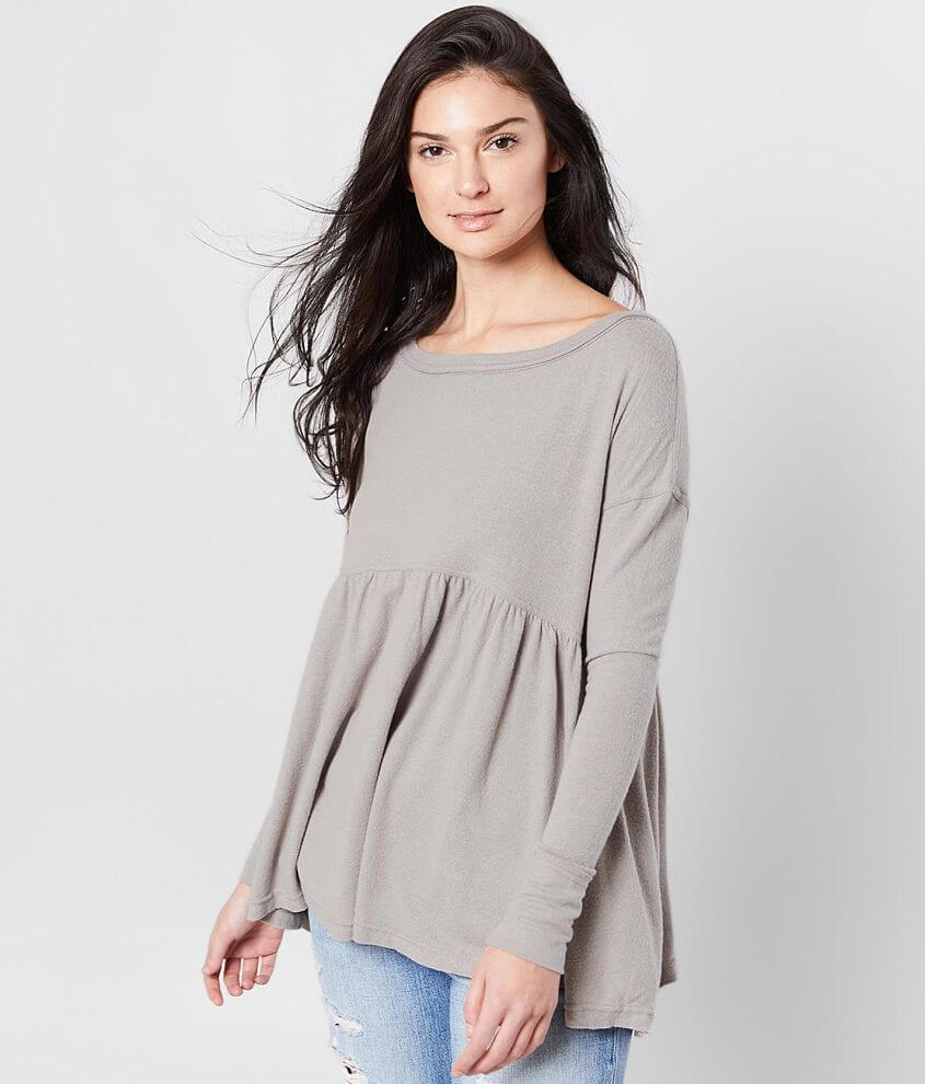 Free People Forever Your Girl Babydoll Top front view