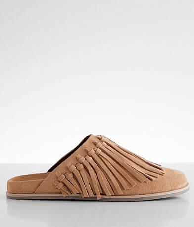 Free People Odessa Fringed Leather Shoe
