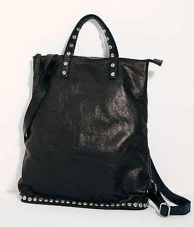 Free People Ellie Leather Studded Backpack