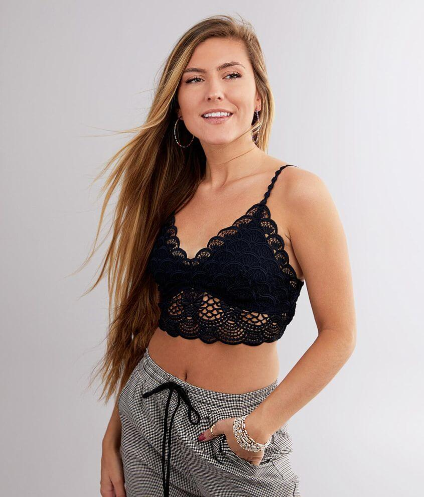 Free People Sunrise To Sunset Bralette front view