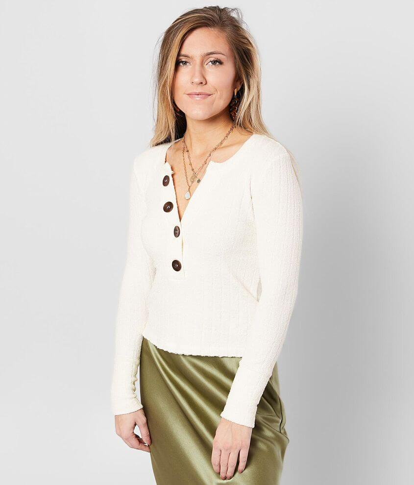 Free People Oliver Henley Top front view