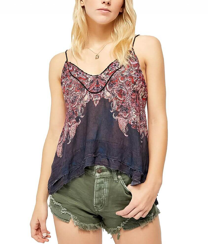 Free People Way You Walk Tank Top front view