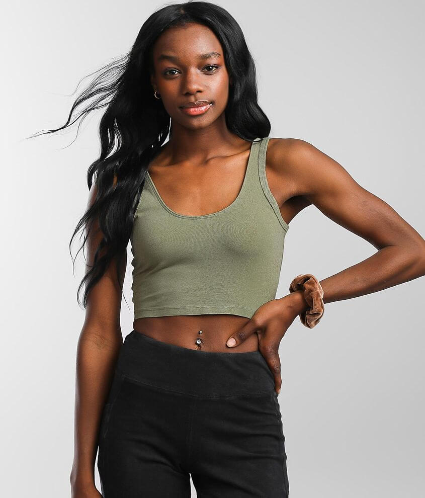 Free People Hot Shot Active Bralette front view