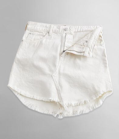 Free People Bailey Denim Mini Skirt