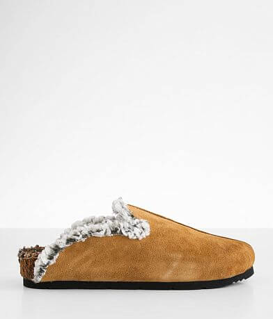 Free People Damon Cozy Leather Mule Shoe