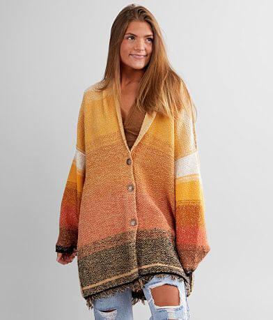Free People Sunset Cardigan Sweater