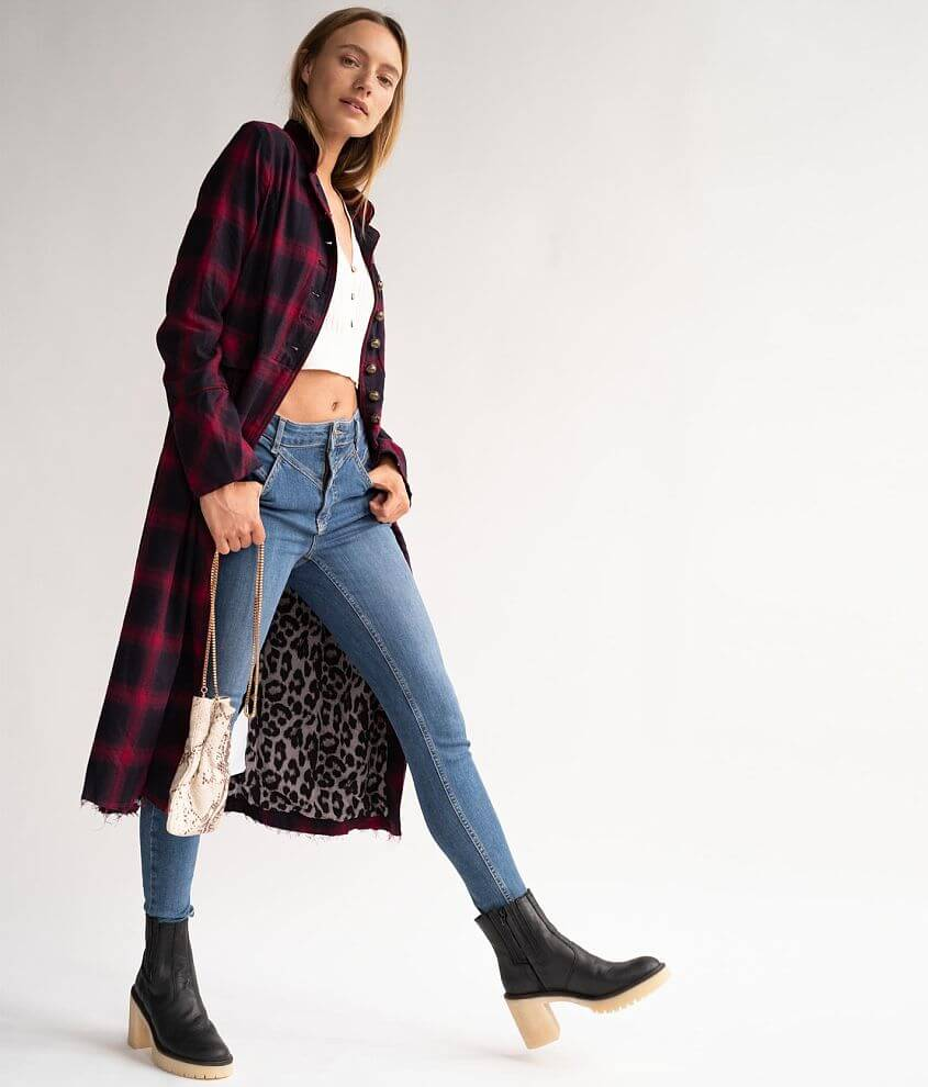 Free People Odessa Duster Jacket front view