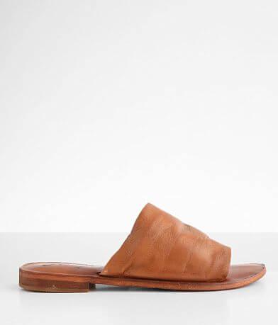 Free People Vicente Leather Slide Sandal
