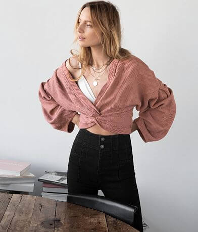 Free People Fall For You Cropped Top