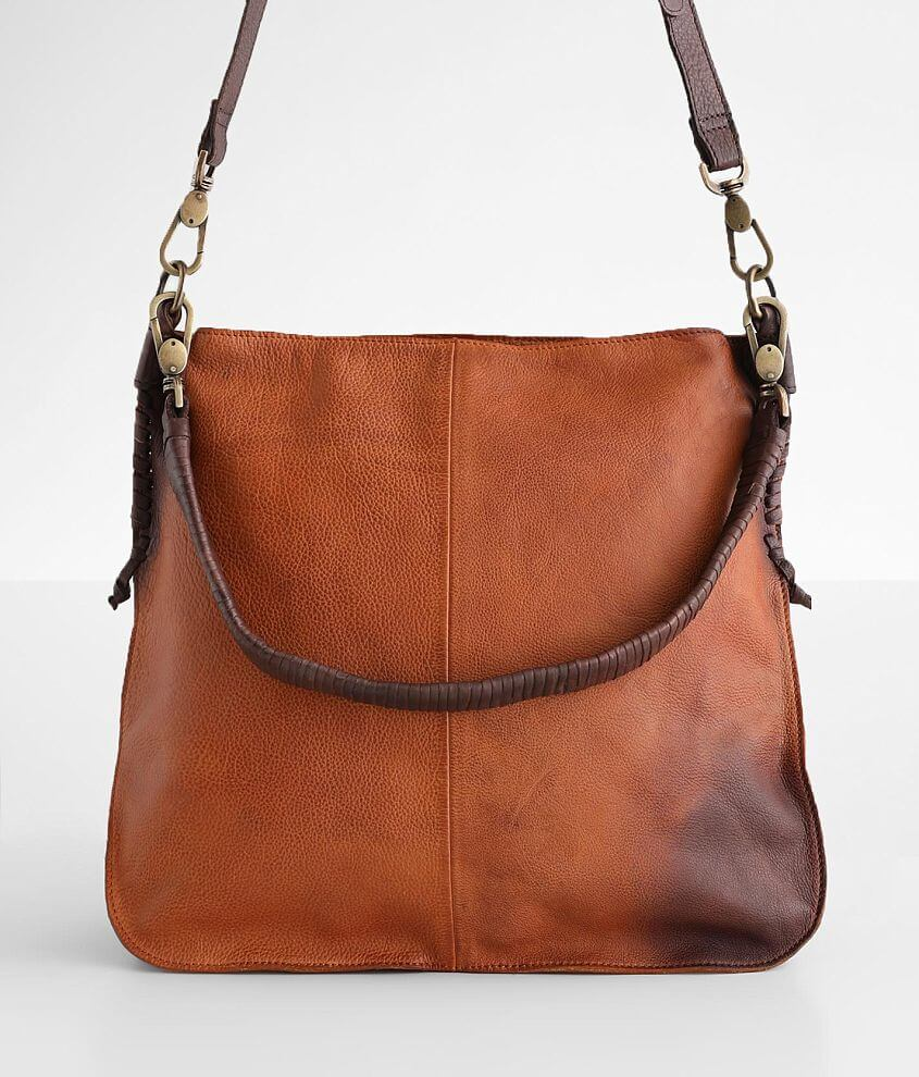 Free People Saratoga Leather Satchel front view