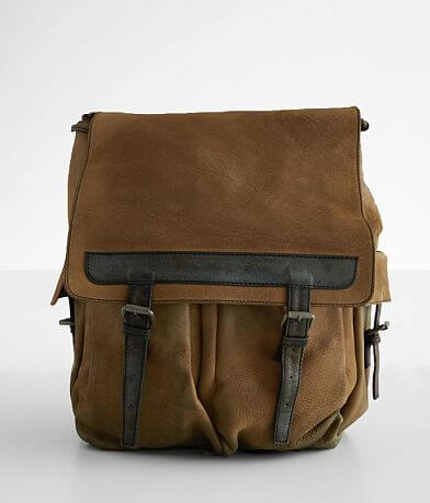 Free People Trailblazer Leather Backpack