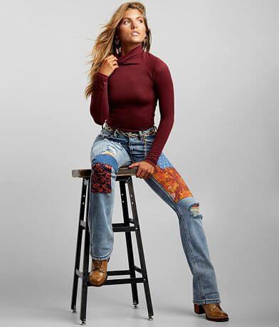 Free People Belladonna High Rise Jean