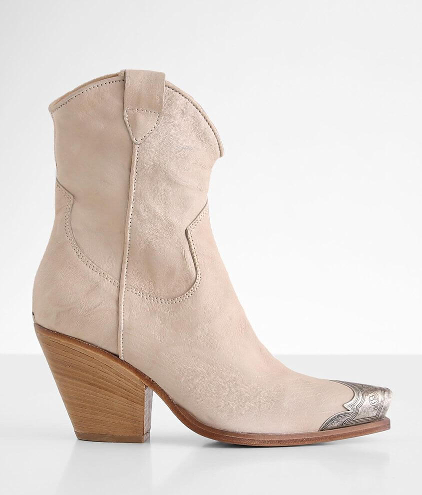 Free People Brayden Leather Western Boot front view