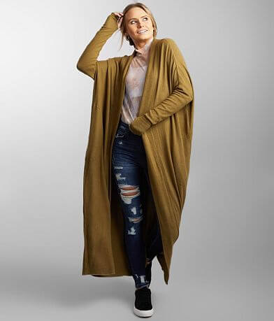 Free People Warm Up Duster Cardigan