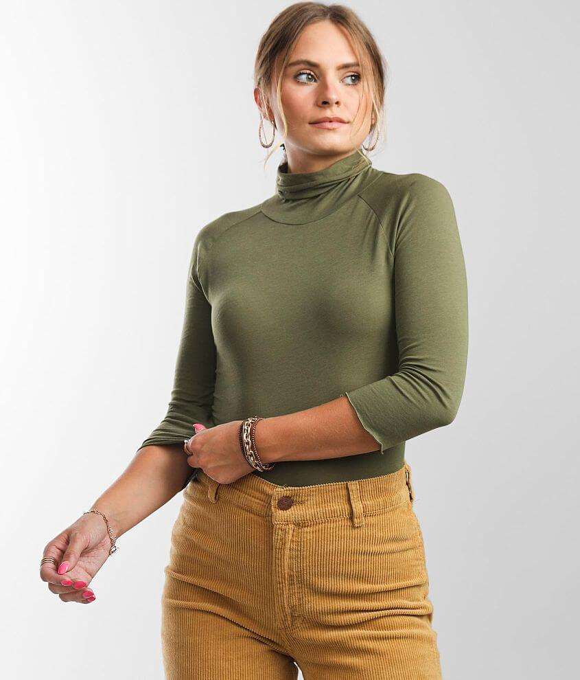 Free People Modern Turtleneck Top front view