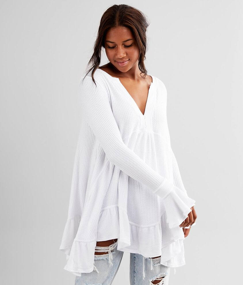 Free People Olivia Henley Tunic Top front view