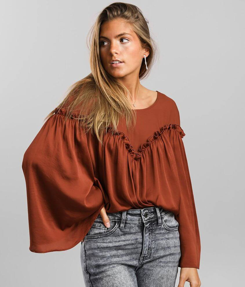 Free People She's A Natural Bodysuit front view