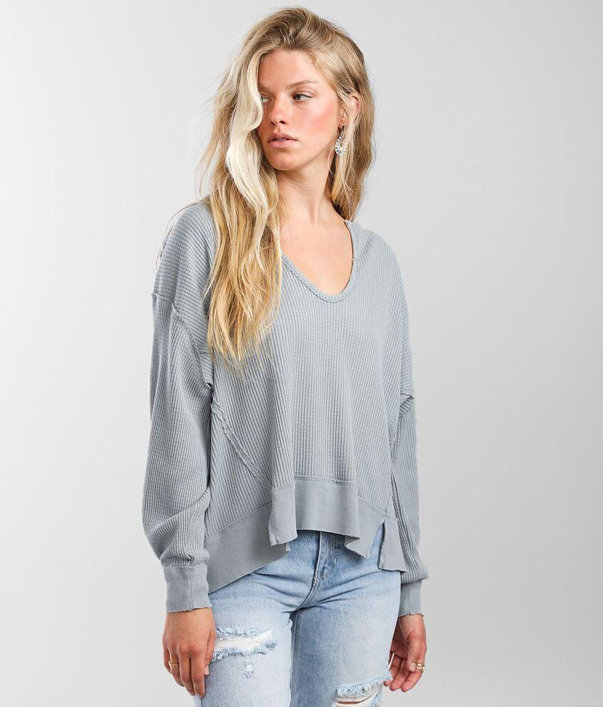 Free People Buttercup Thermal Top front view