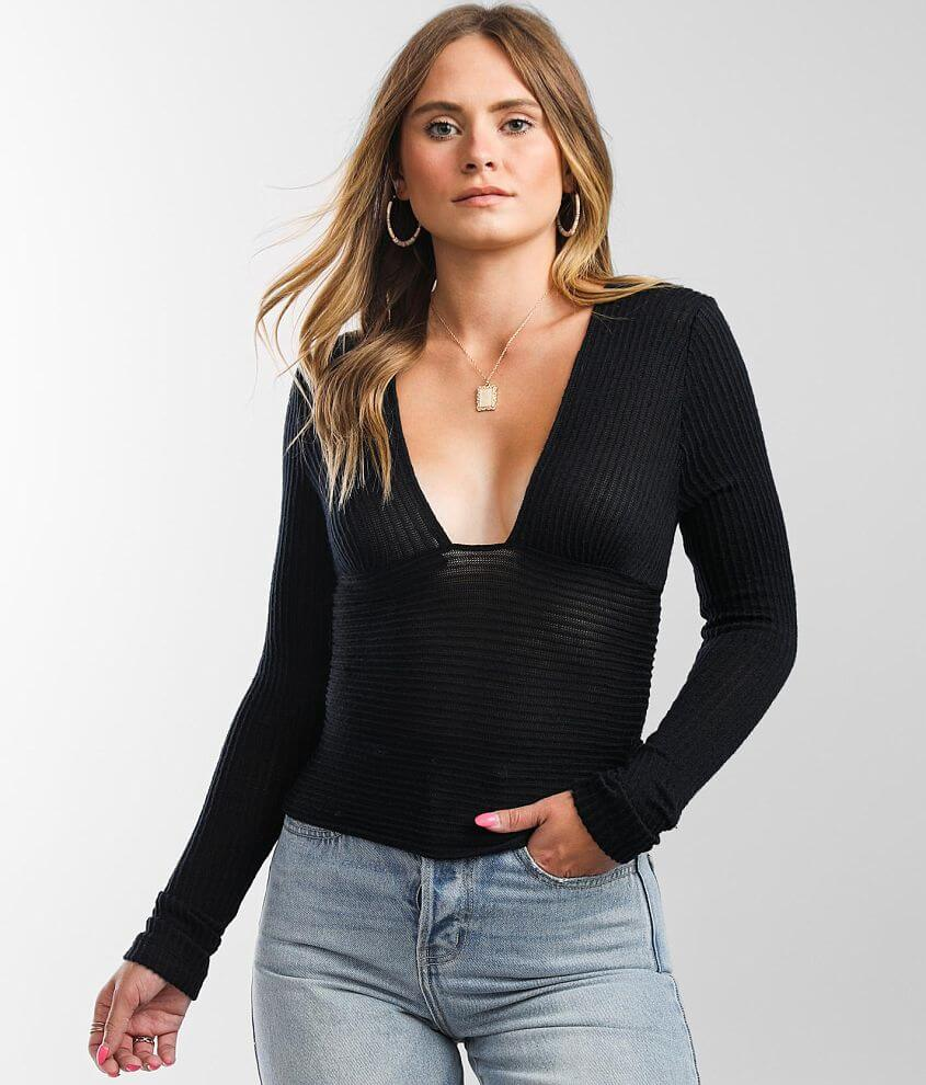 Free People Lindsey Cropped Top front view