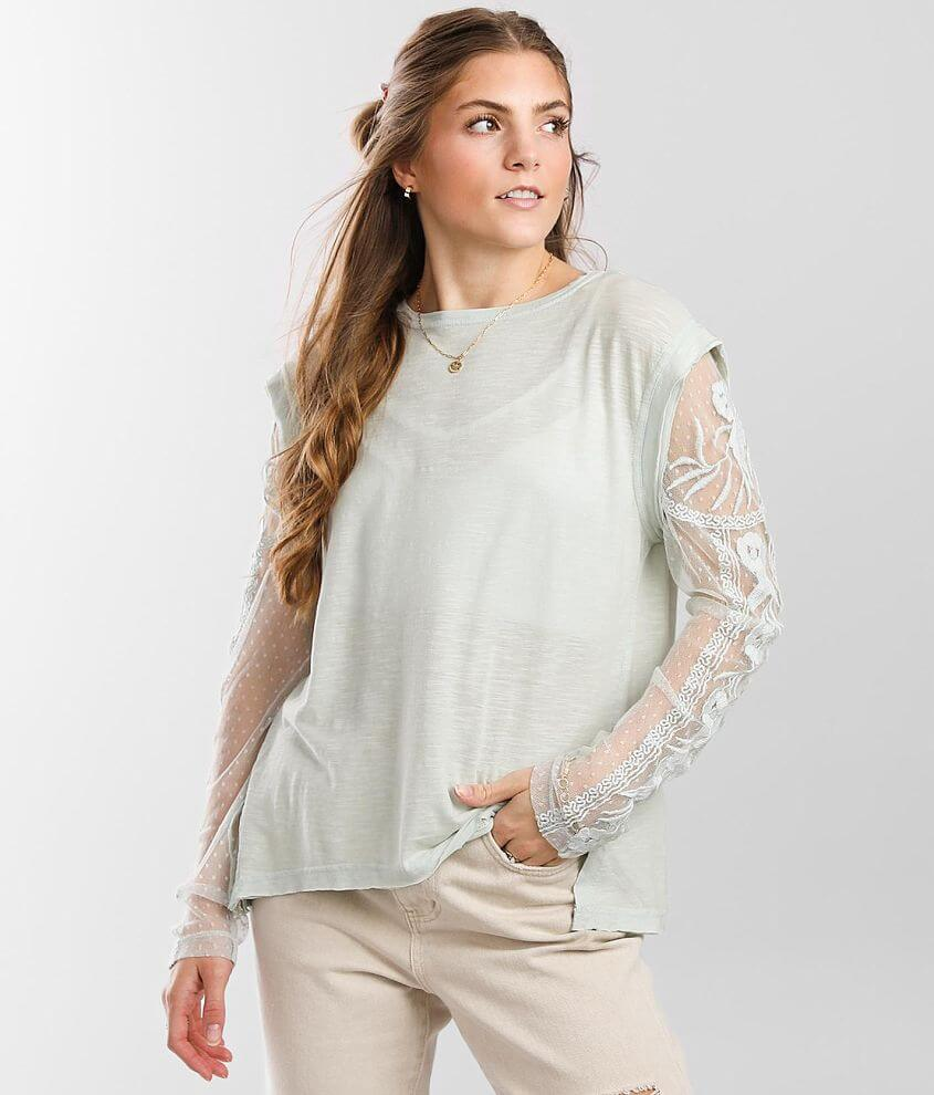 Free People Billie Jean Twofer Top front view