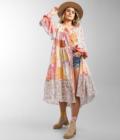 Free People California Soul Duster Kimono