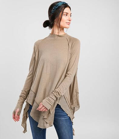 Free People Starlight Ruffle Top